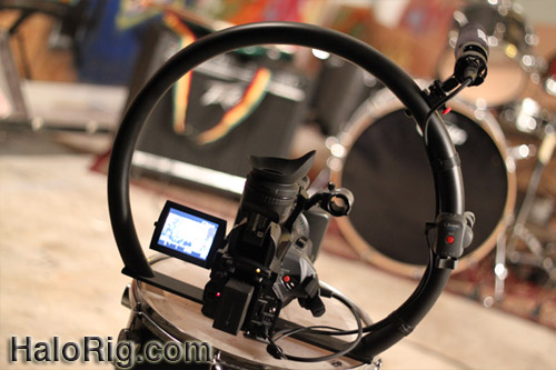 Halo Rig HD - Live Video Camera Stabilizer fig rig figrig
