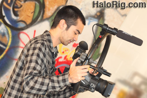 Halo Rig HD - Live Video Camera Stabilizer fig rig figrig HD