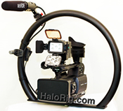 fig-rig halo rig hd d-rig video camera stabilizer