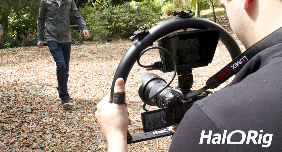 Break Free from the Tripod with the HaloRig Video Camera Stabilizer