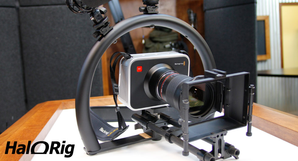 Go Stabilizer Pro with the HaloRig MINI KIT featuring the Blackmagic Cinema Camera